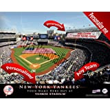 New York Yankees Team Stadium Print - Personlized Officially Licensed MLB Photo Print