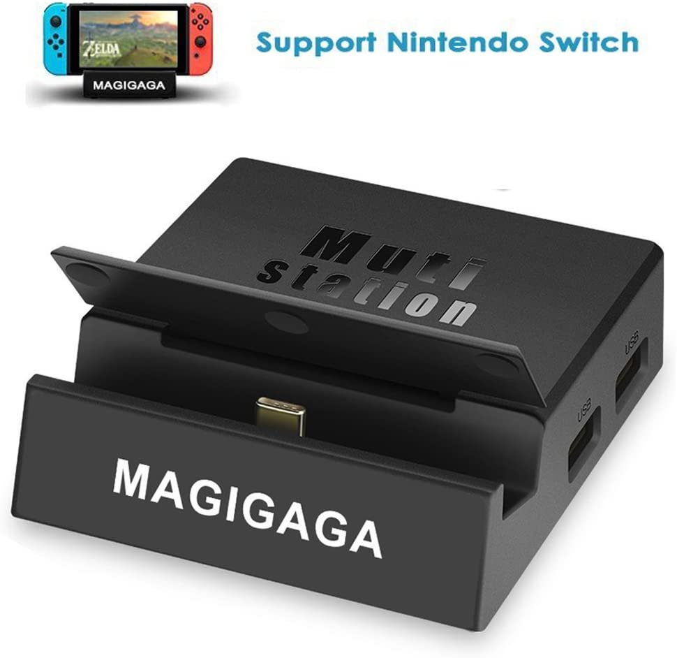MAGIGAGA - Adaptador USB C HDMI para Nintendo Switch Portable Dock ...