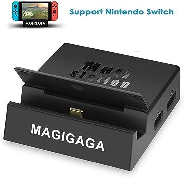 MAGIGAGA - Adaptador USB C HDMI para Nintendo Switch Portable Dock ...
