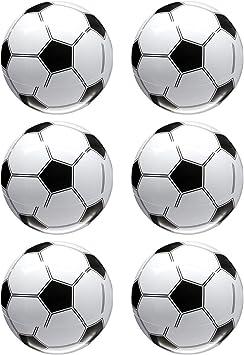 Toyvian Pelotas de fútbol inflables para Jugar en la Piscina de la ...