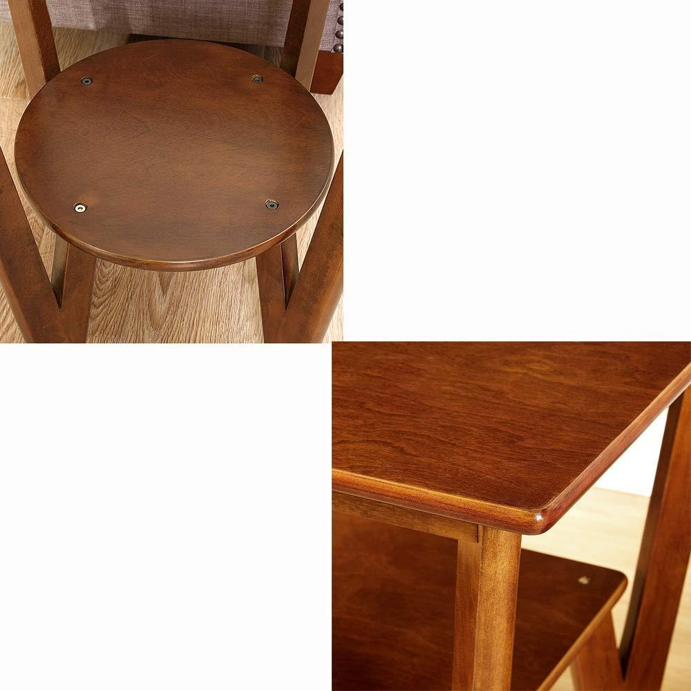 B-CD Geometria Tavolino in Legno Massello Protezione Anticorrosione Multifunzione Rinforzo Divano Lato Tavolino Tavolino Comodino Camera da Letto