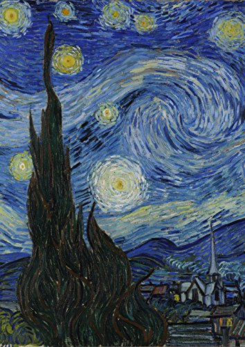 (Toland Home Garden Van Gogh's Starry Night 28 x 40 Inch Decorative Sky Star Classic Painting House)