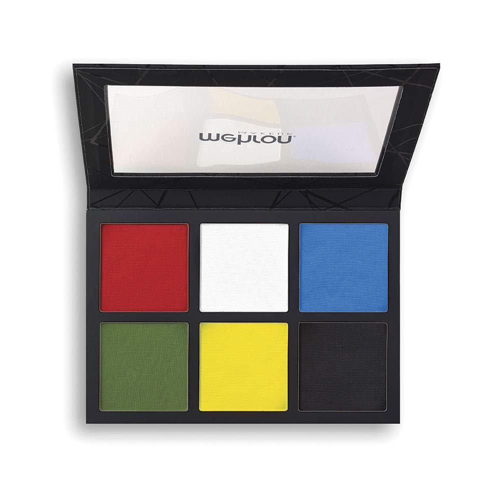 Mehron Makeup EDGE Professional Face & Body Makeup 6-Color Palette (6 ounce) by Mehron