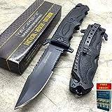 Rescue Survival Knife - Only US Tac-Force Rescue Seat Belt Cutter, Glass Breaker Survival Pocket Knife