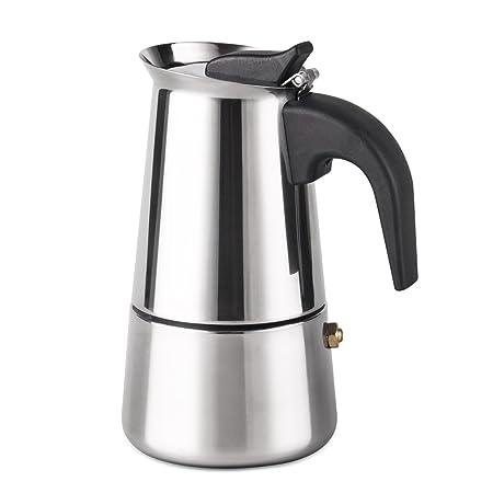 Cafetera de espresso Filtro Cafetera italiana de acero ...