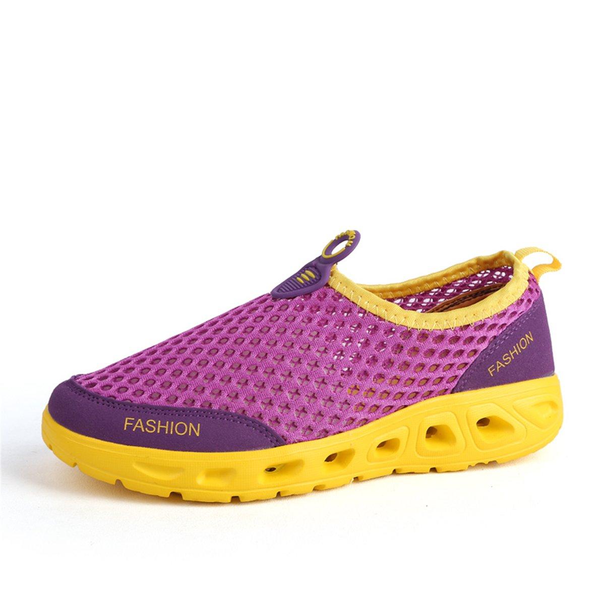 gracosy レディース GRACOSYWERTY13928 5 B(M) US Purple Yellow B07BHMWS7L