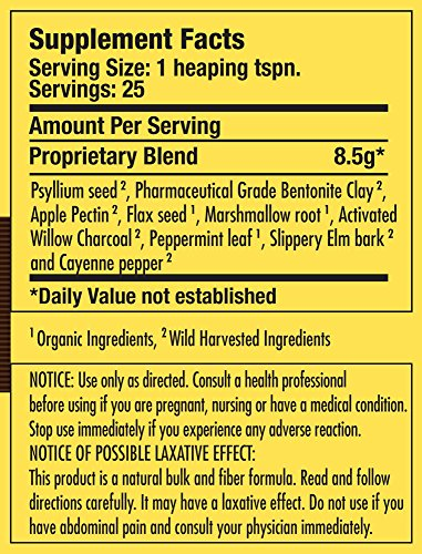 Dr. Schulze's | Intestinal Formula #2 | Herbal Colon Cleanse Formula | Natural Detox Powder| Dietary Supplement | Remove Excess Waste, Poisons & Build-Up | Gastroenteric Vacuum | 8 Oz. Jar (2 Pack) by Dr. Schulze's (Image #1)