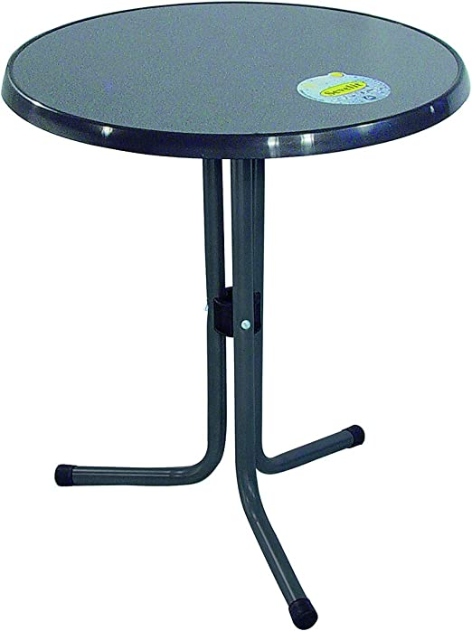 Mesa comedor Bistro Mesa Redonda ø 60 x 70 cm bar mesa mesa de jardín terraza balcón: Amazon.es: Jardín