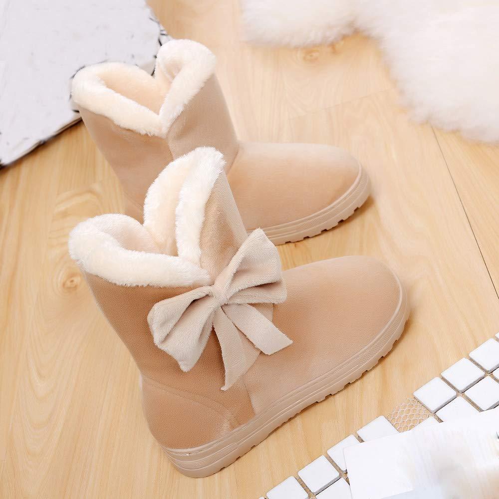 JiaMeng Zapatos de mujer Viernes Negro Botines Mujer Botas Pisos Zapatos Nieve Mujer Botas Otoño Invierno Zapatos Moda: Amazon.es: Ropa y accesorios