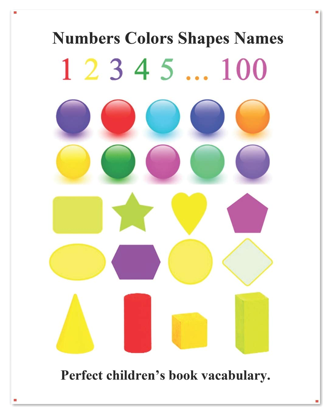 Numbers Colors Shapes Names: Picture 100 Numbers Colors ...