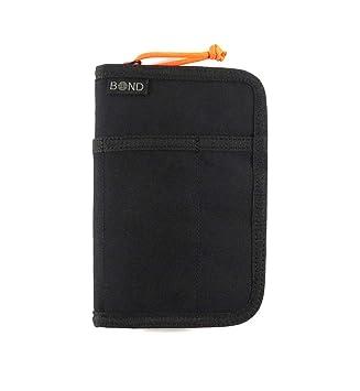 5f6d9d60ae36 RFID Blocking Minimalist Passport Document Organizer Holder Pocket Notebook  Cover Travel Wallet