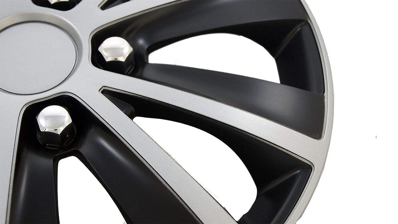 UKB4C 4 x Wheel Trims Hub Caps 16 Covers fits Dacia Sandero