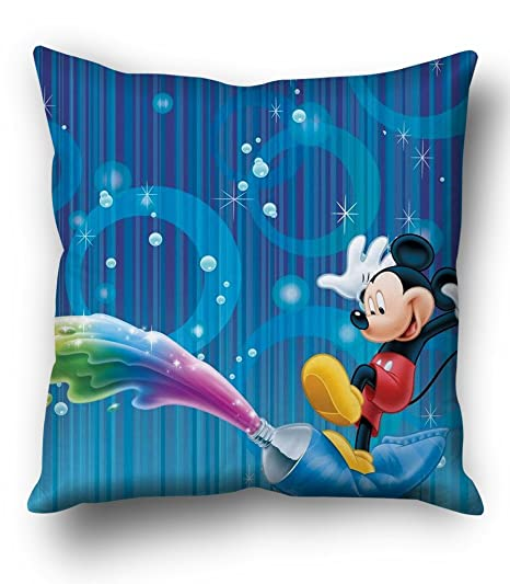 Sky Trends Mickey Abstract Background Cushion Cover