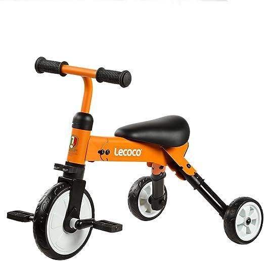 XQ- Triciclo para Niños 2-3-5-6 Años De Edad Bebé Bicicleta para ...