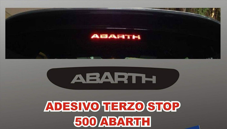 Mural Stickers Aufkleber Dritte Stop Für Neu Fiat Cinquecento 500 Abarth Auto