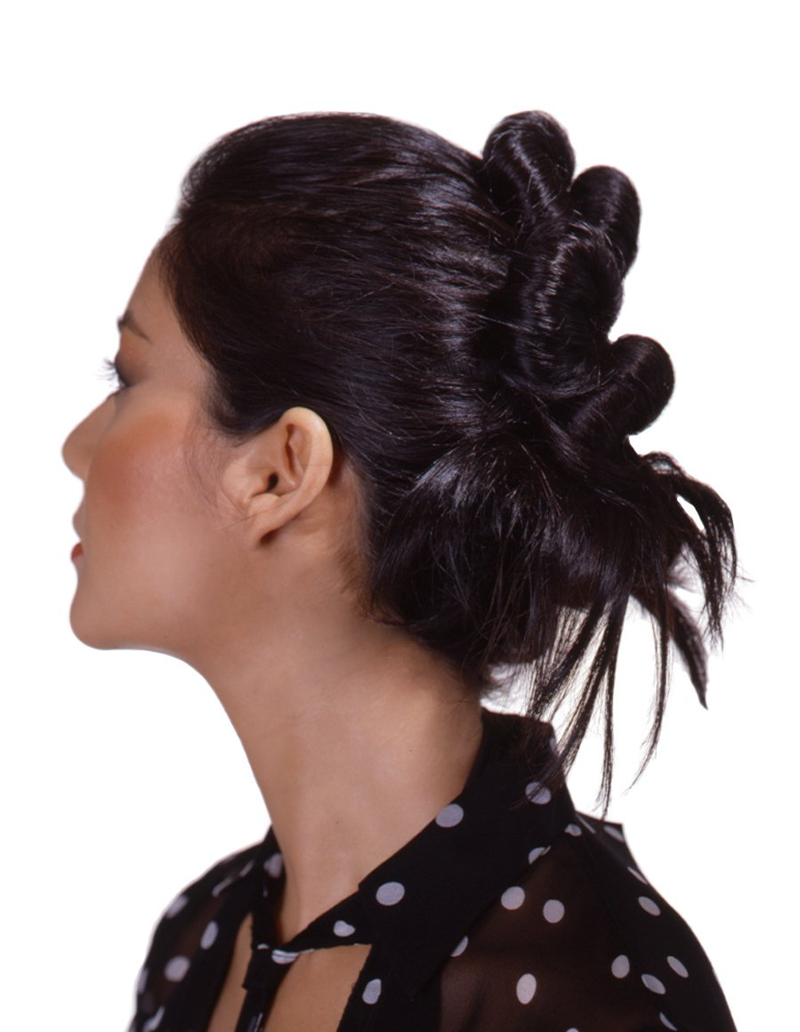 BunMaker by Klicinz Small for Short Hair (Black) LJL Inc