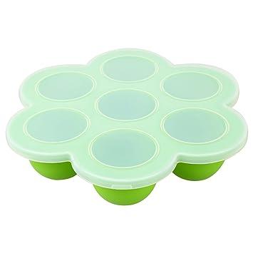 Xigeapg Congelador de alimentos para bebe - Recipiente de ...