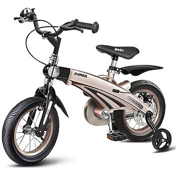 Bicicletas Para Niños, Bicicleta Con Montura De Aleación De Magnesio Con Ruedas Estabilizadoras, Peso