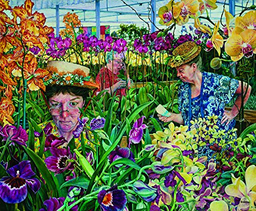 SunsOut Orchids with Mantis 1000 Piece Jigsaw Puzzle