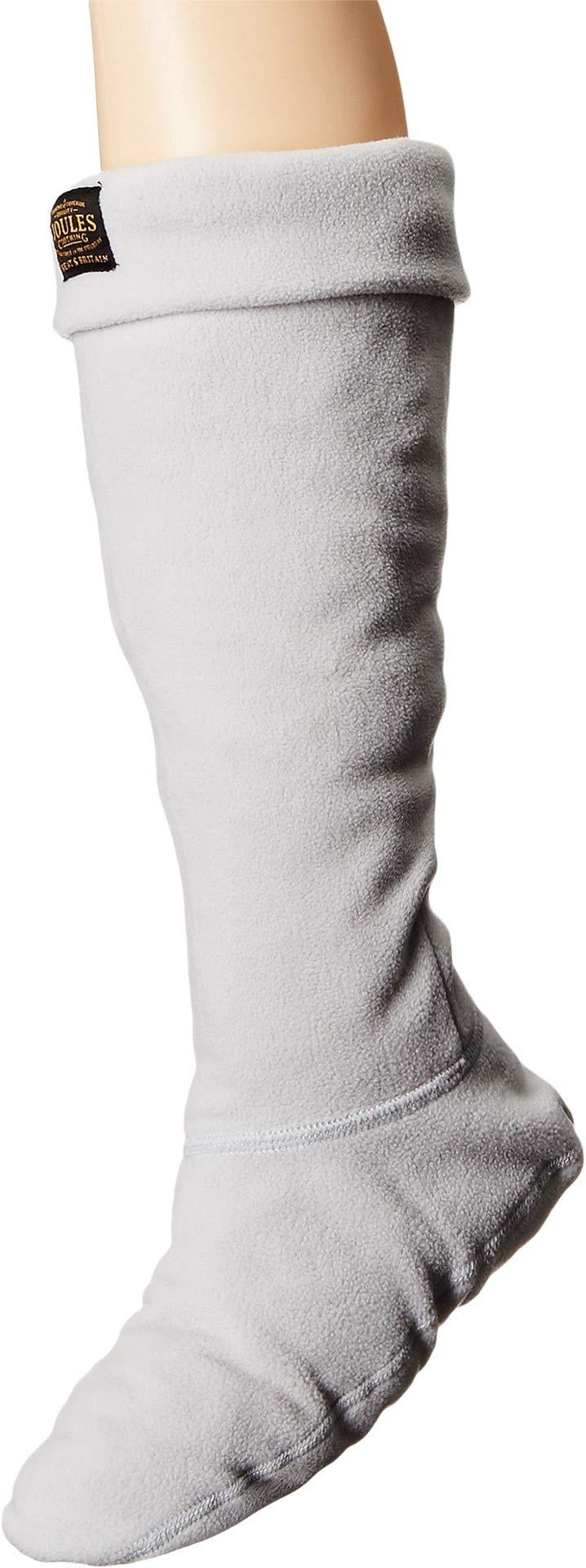 Joules Women's Weltonus Rain Boot Sock, Silver,Medium,US