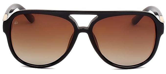"4a9152bfc4 PRIVÉ REVAUX ICON Collection ""The Nash"" Designer Polarized Aviator  Sunglasses"