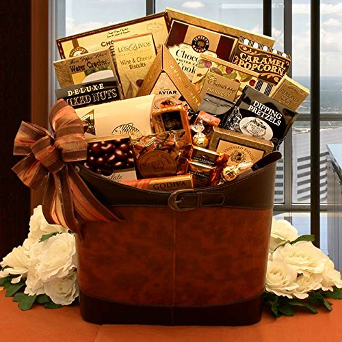 Gourmet Selections Tote with Gourmet Food by The Gift Basket Gallery