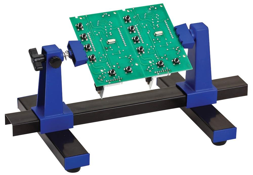burntec pcb holder jig securely holds printed circuit amazon co
