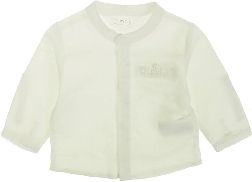 L//s Mao Collar Shirt for Boys 3170 Lightblue Mayoral
