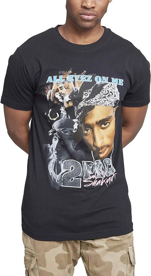 8279207b Mister Tee Herren Tupac Retro T-Shirt: Amazon.de: Sport & Freizeit