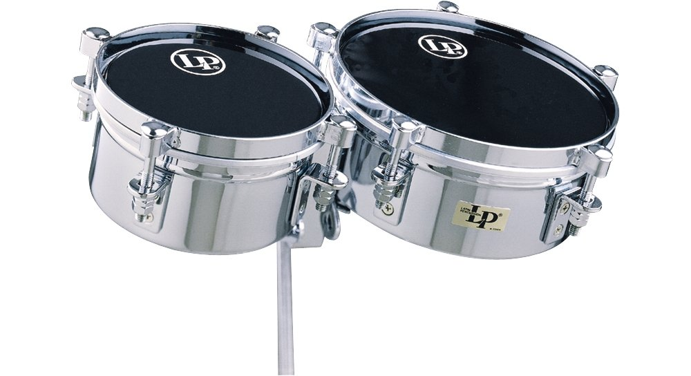 Lp Lp845-K Mini Timbale Set With Clamp Latin Percussion