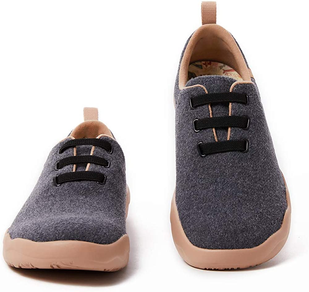 UIN Men's trend rank OFFer Walking Shoes Slip Lace-up On Wool Casual Lightweight