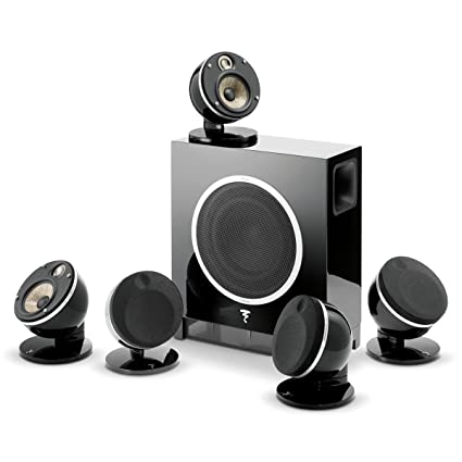 Amazon com: Focal Dome 5 1-Channel Speaker System With Sub