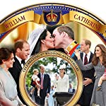 William and Catherine Royal Wedding 5th Anniversary Collector Plate by The Bradford Exchange