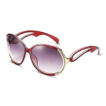 3acf85cc23 HMILYDYK Star elegante de las mujeres polarizadas gafas de sol Revo Fashion  Classic Oval espejo lente
