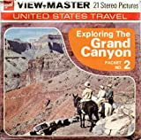 Classic ViewMaster - United States Travel - Exploring the Grand Canyon Packet No. 2 - ViewMaster Reels 3D - Unsold store stock - never opened