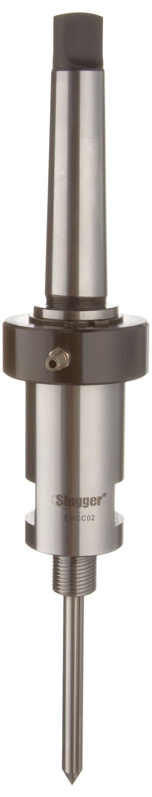 Jancy Slugger EWCC02 3 Morse Taper Industrial Arbor With Coolant Inducer, For M18 X 1.5 Threaded Bore Slugger Carbide Tipped Cutters