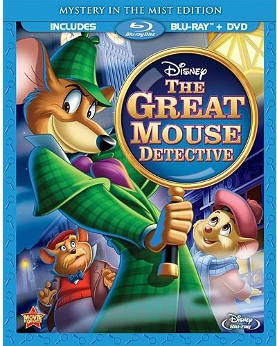 Great Mouse Detective [Edizione: Stati Uniti] [Reino Unido] [Blu-ray]