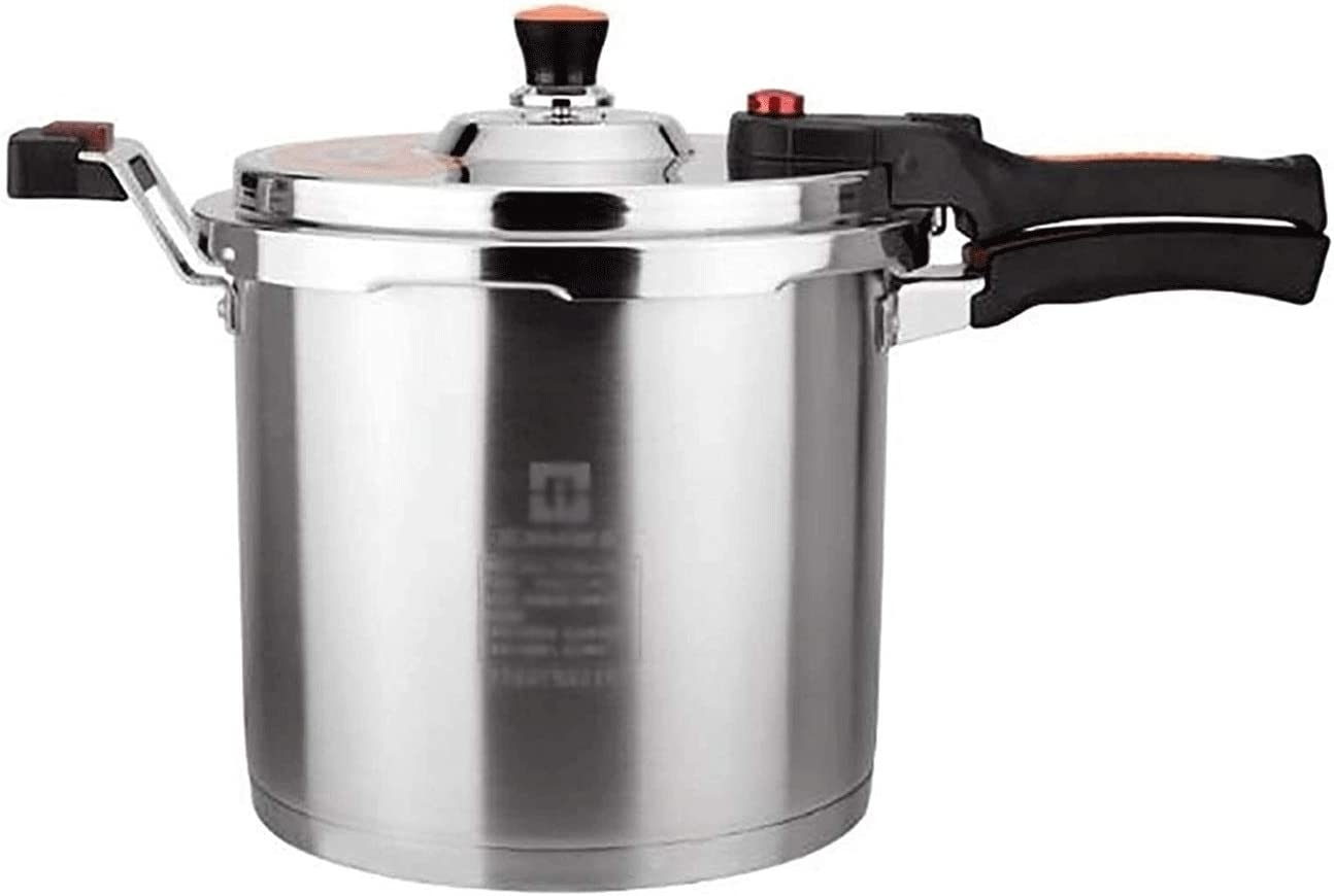 Z-COLOR 304 Stainless Steel Pressure Cooker, T-shaped Valve Body Design, Large-capacity Explosion-proof Soup Pot, Multiple Safety Protection, Thickened Slow Cooker (Size : 8L)