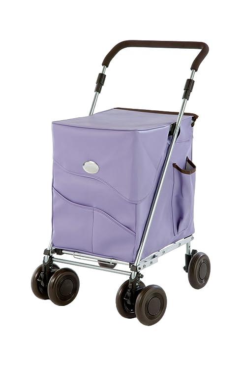 Bolsa de lujo Sholley con lila, el carrito de la compra plegable o walker en