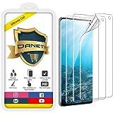 Película de Gel Silicone Flexível Para Samsung Galaxy S10 Tela 6.1 Polegadas - Proteção Que Adere E Cobre Toda A Tela - Danet