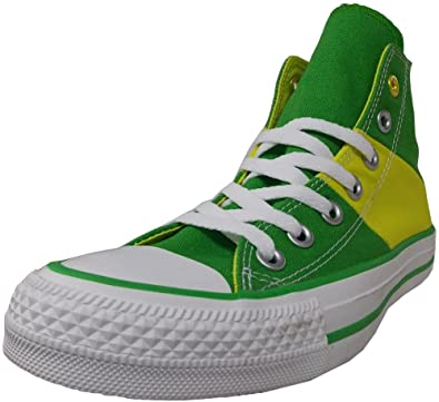 8cc16a350953 Converse Unisex National Pride Jungle Green Oasis Yellow Sneaker - 3 Men - 5  Women