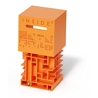 INSIDE3 Mean0 Labyrinth Cube Level : 6 Out of 12: Toys & Games