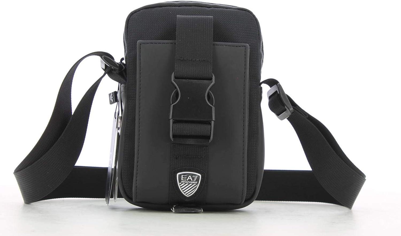 Emporio Armani EA7 bolsos bandolera hombre black