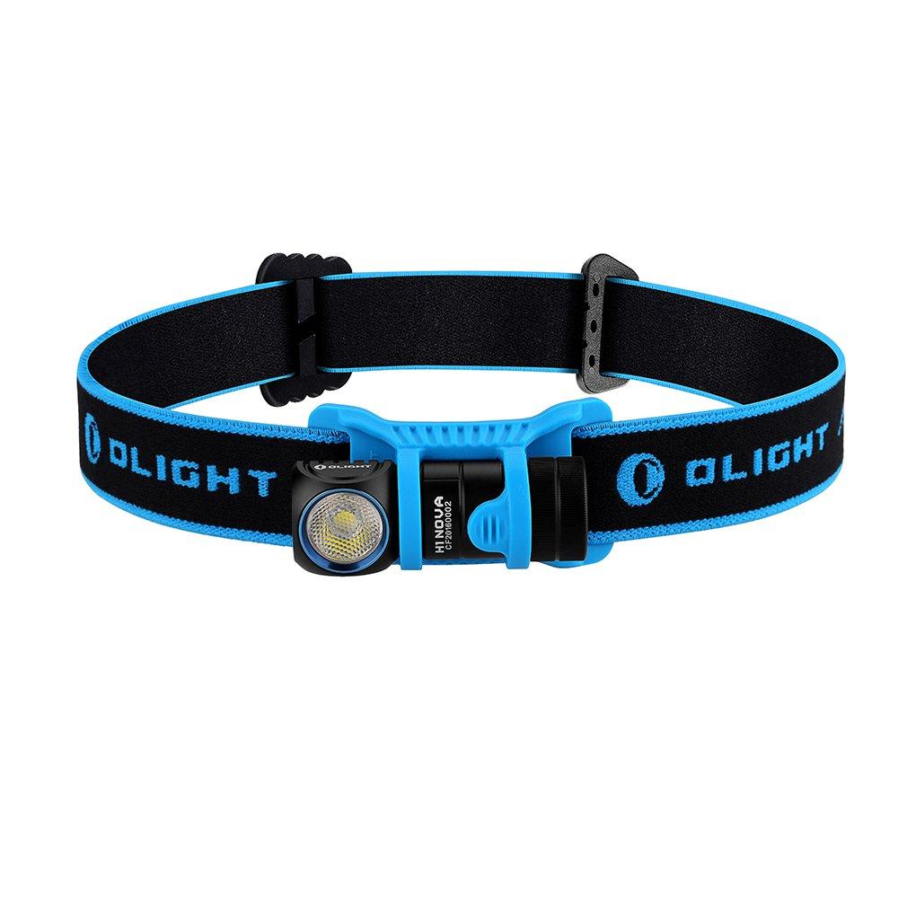 Olight® H1 NOVA - Torce Elettriche Portatili - Proiettori LED - Removibile- Luce Bianco Freddo