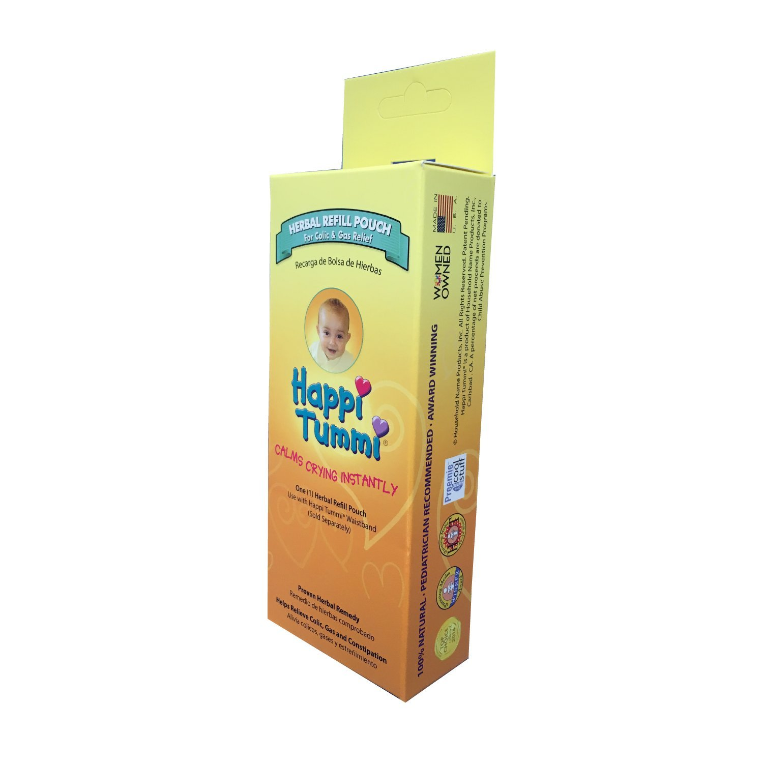 Happi Tummi Herbal Refill Pack - Relief For Infants and Babies with Colic, Gas, and Upset Tummies (1 Pack) by Happi Tummi (Image #2)