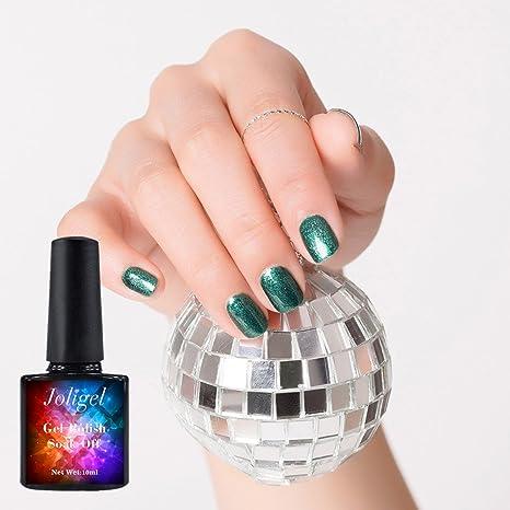 Joligel Esmalte Semipermanente Uñas Gel UV LED Shellac para Manicura Pedicura Nail Art, Pintauñas Permanentes