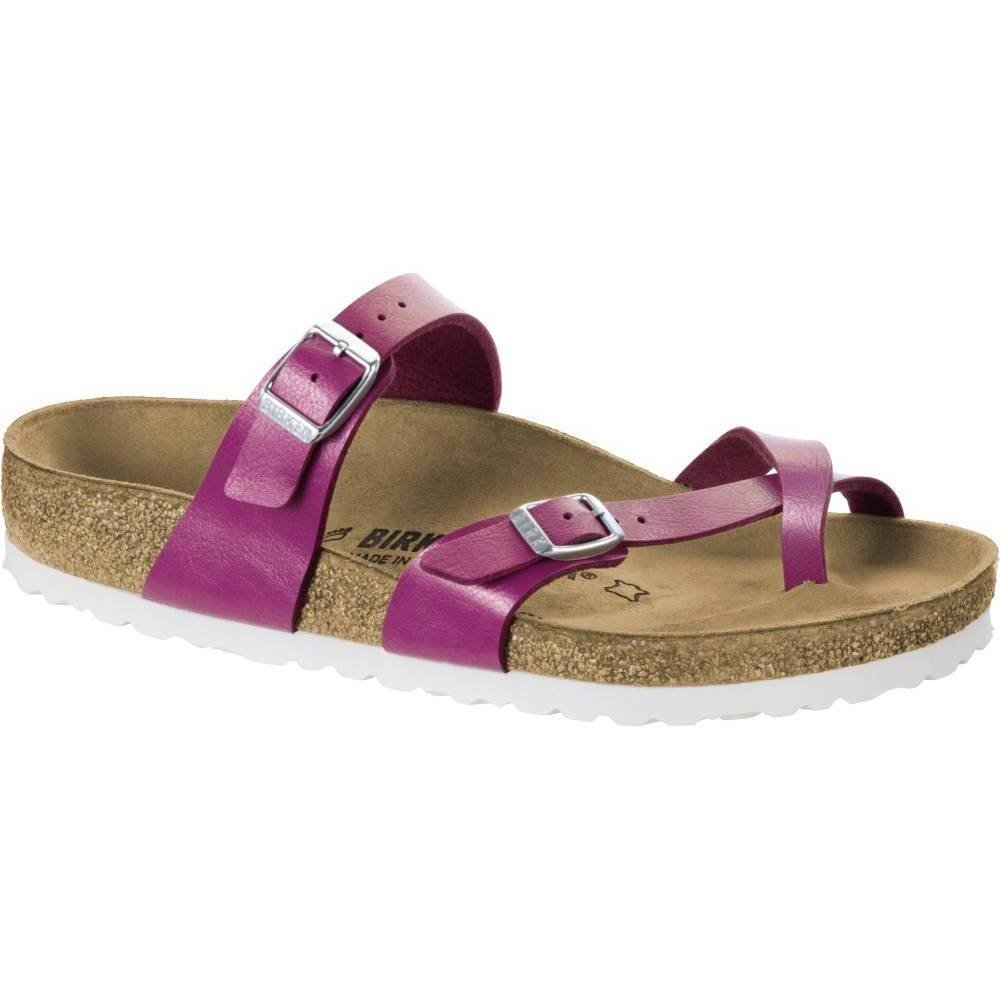 Birkenstock Womens Mayari Magenta Haze Toe Loop Regular fit Sandals Size 7.5