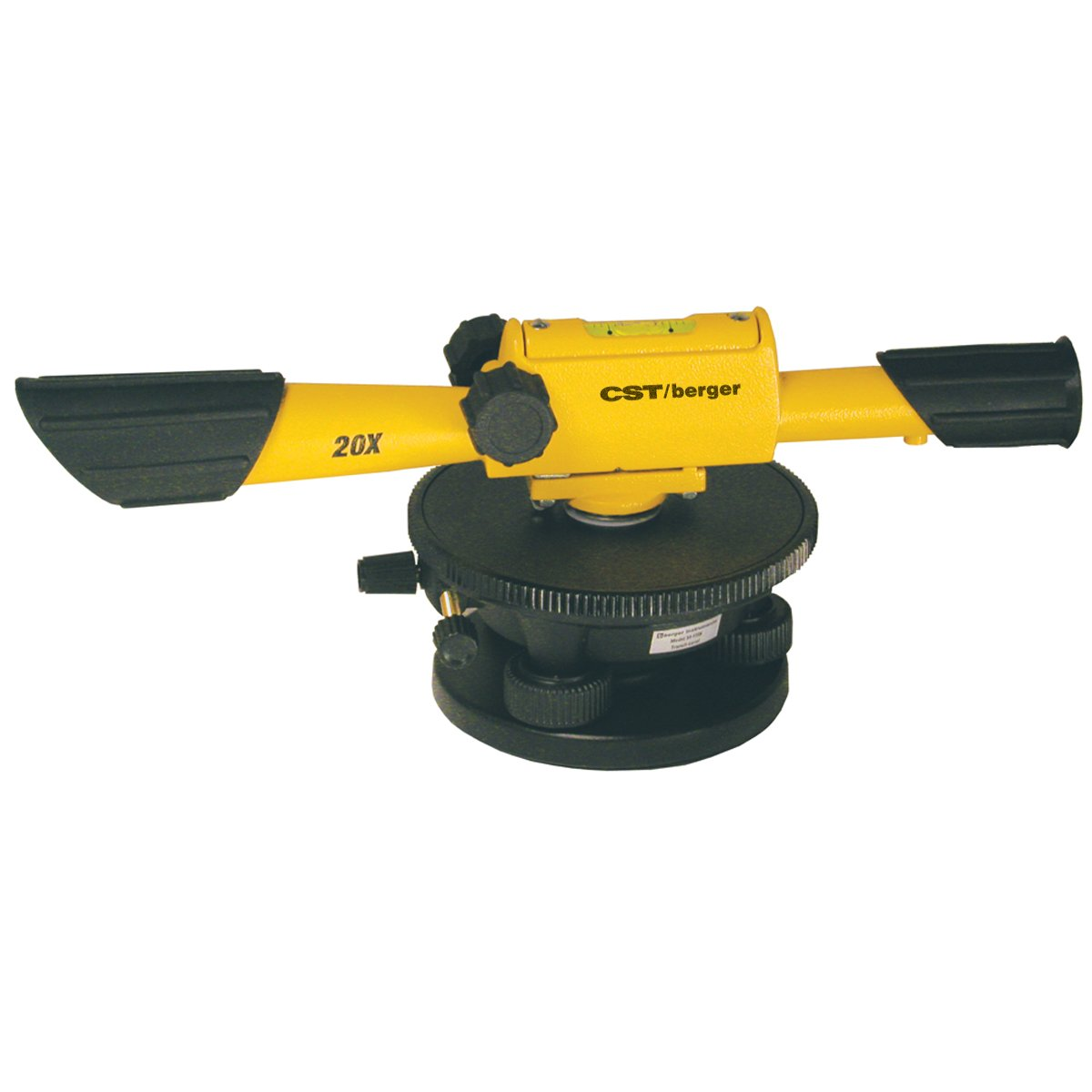 CST/Berger 54-135K Econo 20X Level Package with Tripod, Rod, and Carrying  Case - Transits - Amazon.com