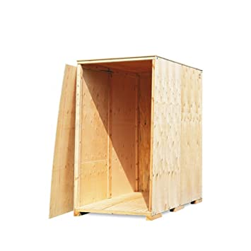 Überseecontainer | Container | Holz Lagerbox: Amazon.de: Bürobedarf ...