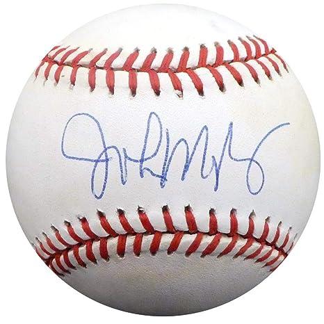 brand new 6662b 6af72 John Mayberry Signed Baseball - Official AL Toronto Blue ...